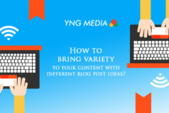 How to bring variety to your content with different blog post ideas?