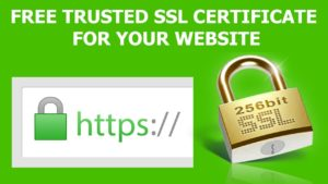 How to Get FREE SSL Certificate for Website (HTTPS)